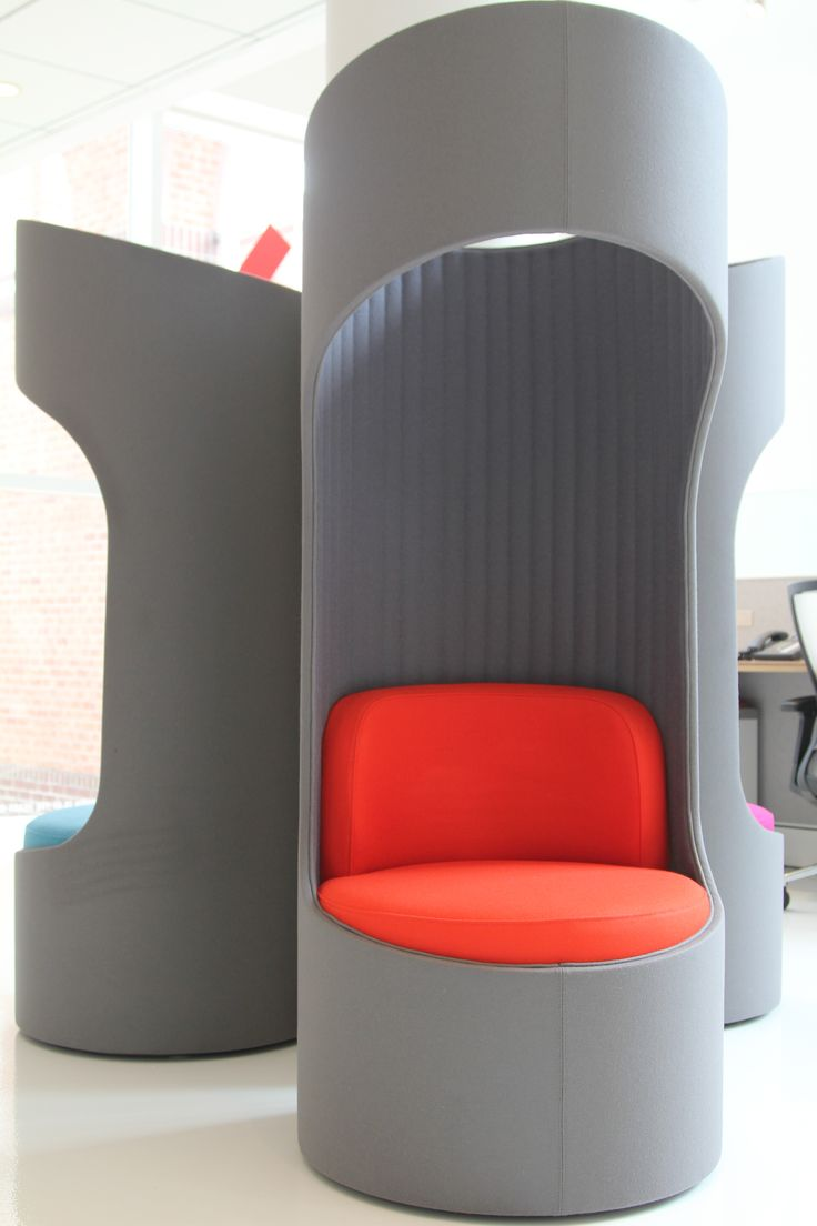 KI's Connection Zone privacy booths. #furniture #seating # ...