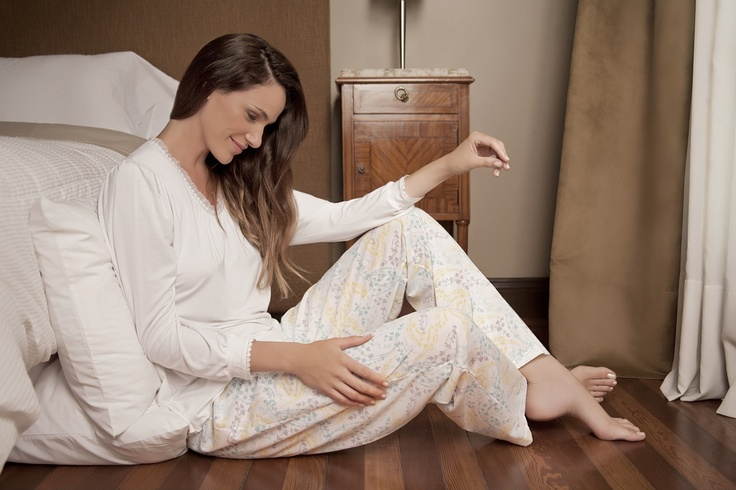 Pijama juvenil con remera de bambú