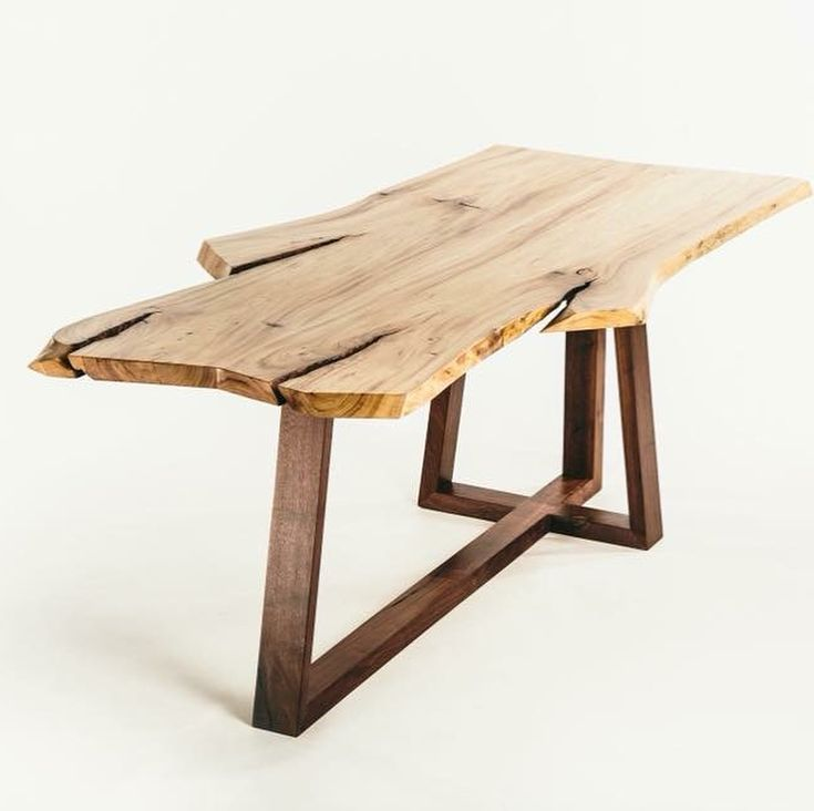 You know those commercials with the big turkey dinner and everyone's around a big, beautiful table, smiling and laughing? That is this table! Beautiful American Elm, built from a tree in Diefenbaker Park, this one of a kind table is the perfect place to host a homemade meal with family and friends! #saskatoonfurniture #eatingoffatree • #hometowndiningtable • Thanks @studiodyxe for the photo!