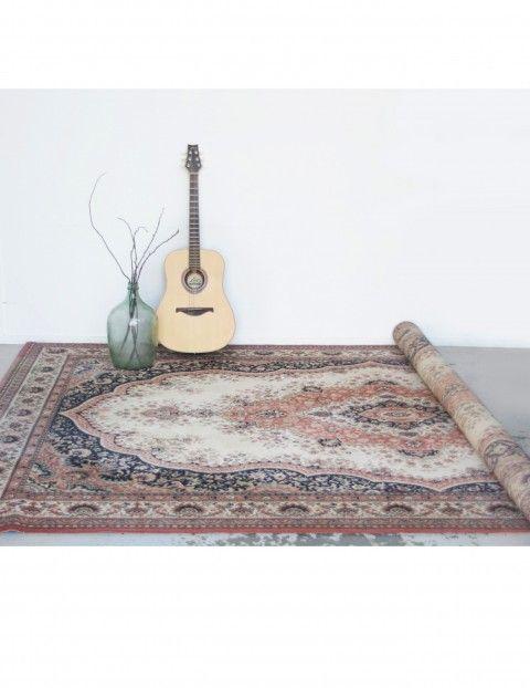 Groot wollen Perzisch tapijt - Soekis
