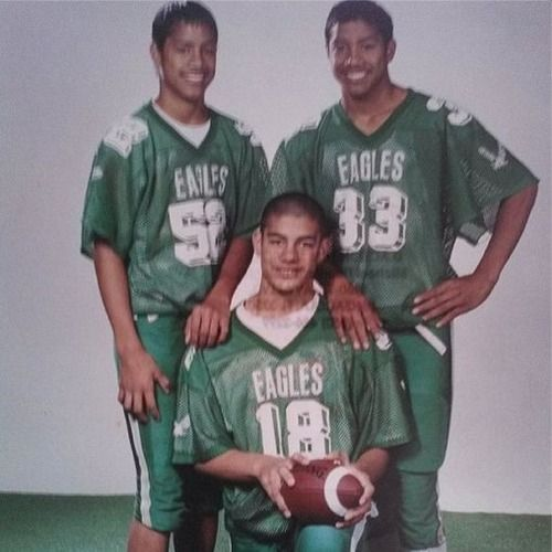 Joshua & Jonathan Fatu (The Usos) with their cousin Joe ...