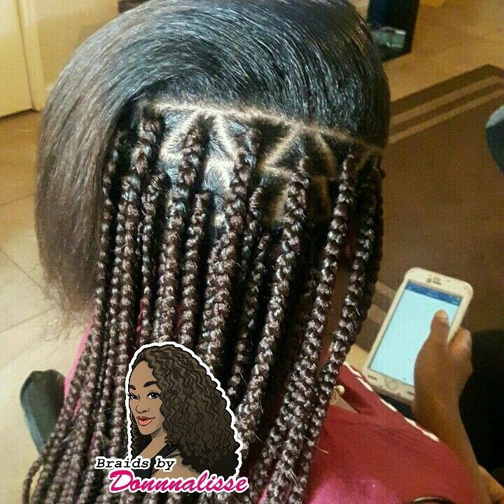 Triangle Part Box Braids Hairbraids101 Box Braids