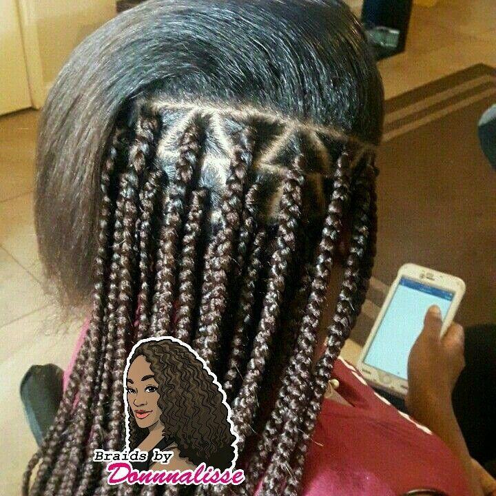 Triangle Part Box Braids Hairbraids101 Box Braids