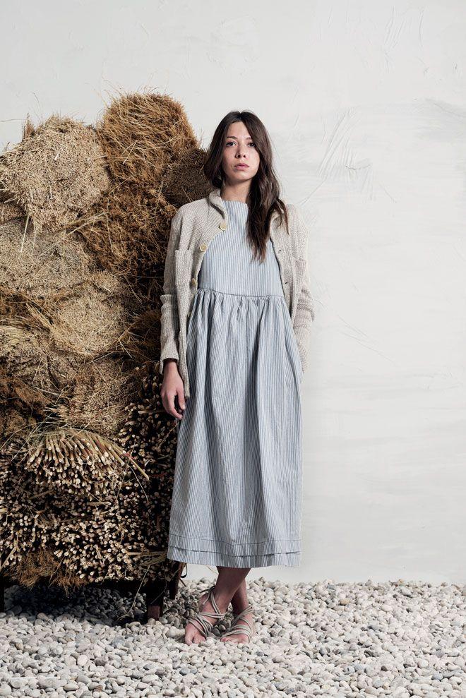 dress and cardigan from Barena Venezia lookbook via Miss Moss : Fashion