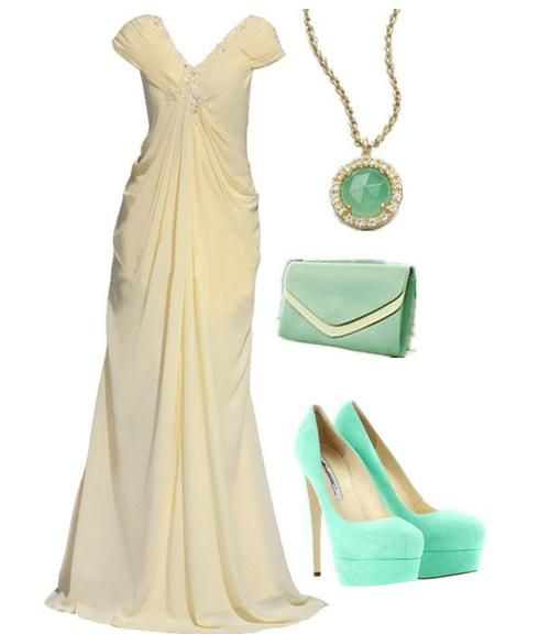 15 Polyvore Combinations for Graceful Ladies: Light of Love.. Shown @ prettydesigns.com