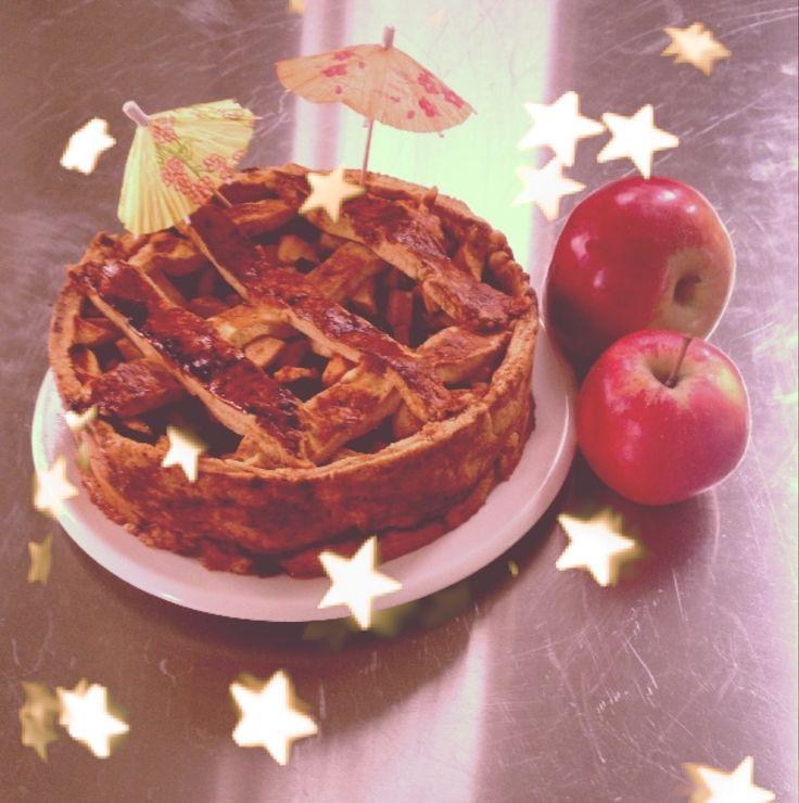 Gezonde appeltaart (van Rens Kroes)