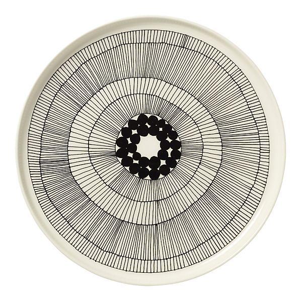 Marimekko plate @ Crate & Barrel