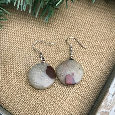 Pudding Stone Earrings