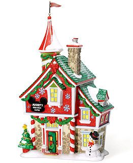 Department 56 Mickey's Christmas Village Collection - Holiday Lane - Macy's