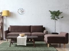 Midcentury vintage Nordic design sectional sofa for sale in Montreal Canada at Newell Furniture.