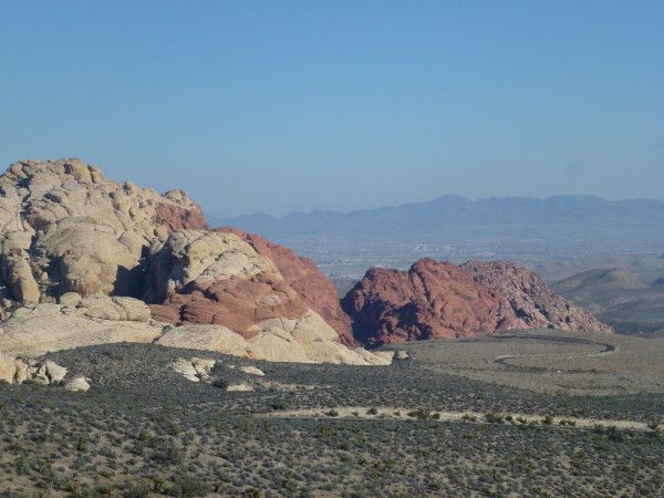 Take a scenic drive in Red Rock Canyon