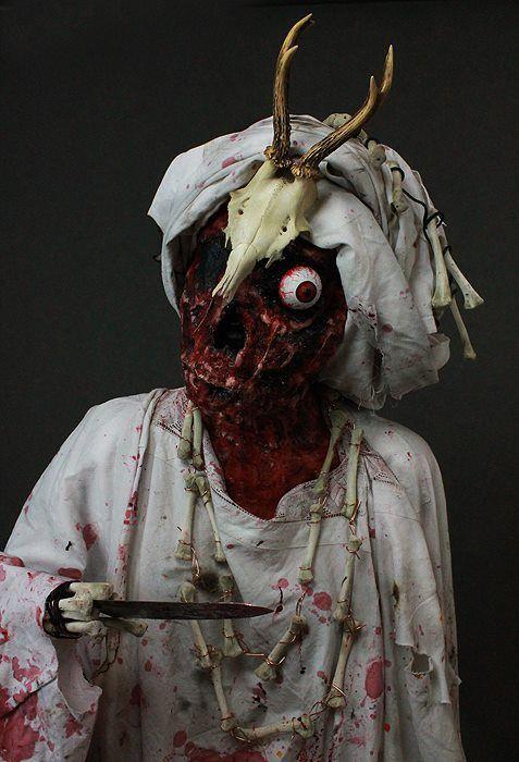 Praca: Paulina Kuczma #FXmakeup #FX #makeup #halloween #zombie