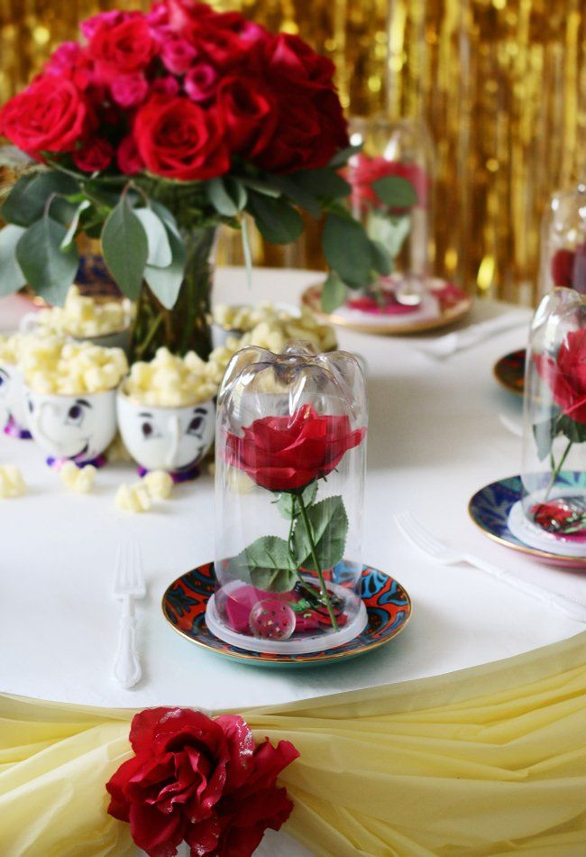 17 Best images about Beauty and the Beast Party on ...