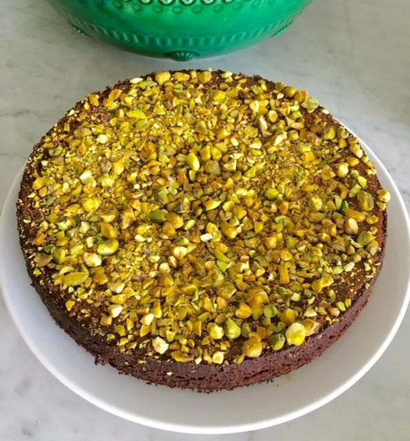 This Persian Love Cake, gorgeously fragrant with beautiful Middle Eastern spices, is moist, delicious and so very easy to prepare. It is grain and gluten free and a lot less sweet than most versions. You will need a 23-25cm springform cake tin for this recipe. This recipe is adapted from Gerard Yaxley's Persian Love Cake…
