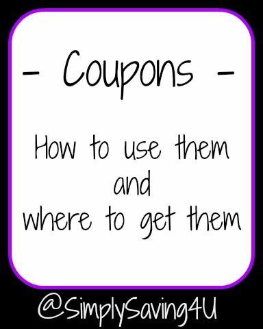 Coupons: How to use them & where to find them #coupons #coupon #couponing #frugal #savemoney