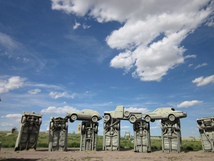 The original English Stonehenge aligns with the sun on the summer and winter solstices, leading some to believe that it was built as a sort of cosmic calendar or worship site.