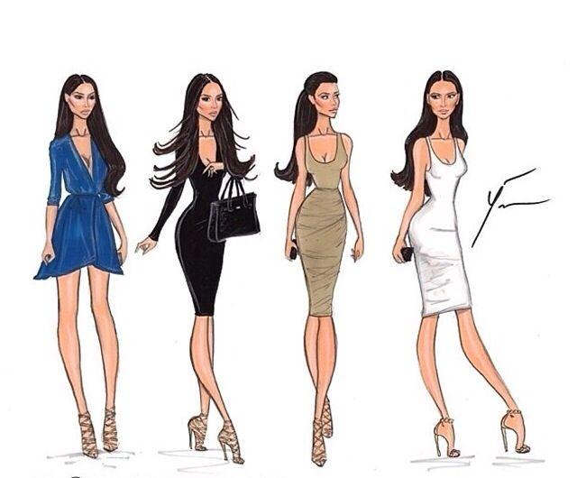 117 best Fashion design sketches images on Pinterest | Fashion ...