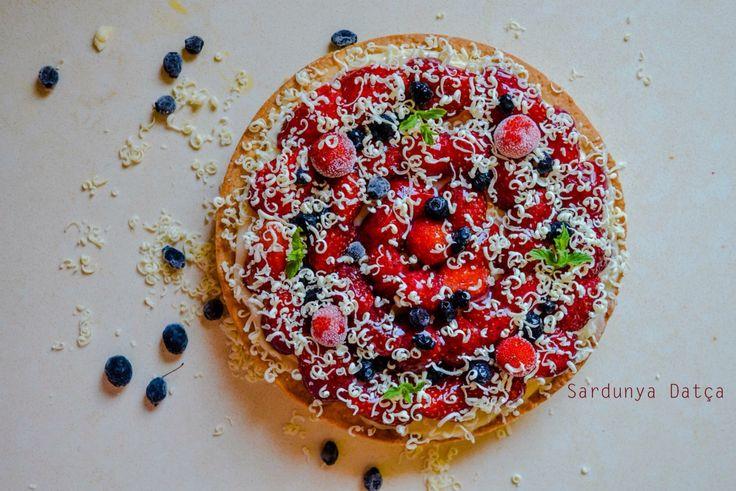 #meyveli #tart #kocayemiş #yabanmersini #dessert