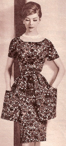 Fashion in the 1960s was the rise of ornamentation! And that's what made me choose this photo!