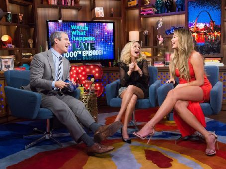 Andy Cohen - with a Little Help from Chrissy Teigen and Kristin Chenoweth - Spills the Tea on 1,000 Episodes of Watch What Happens Live