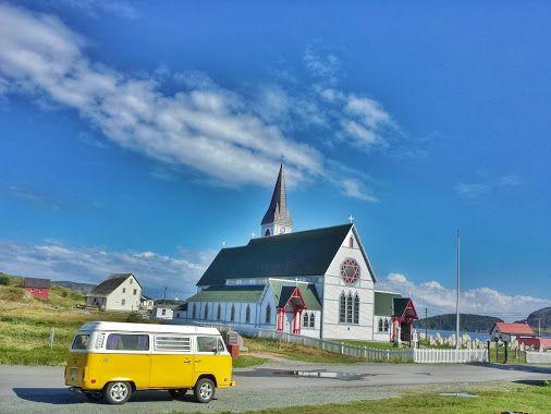 Trinity church in summer • #tstMoments • #tstCanada w @NLtweets @explorecanada #ExploreCanada #ExploreNL • #Travel #Canada #Newfoundland #Photography #Westfalia #travelphotography #trinity •