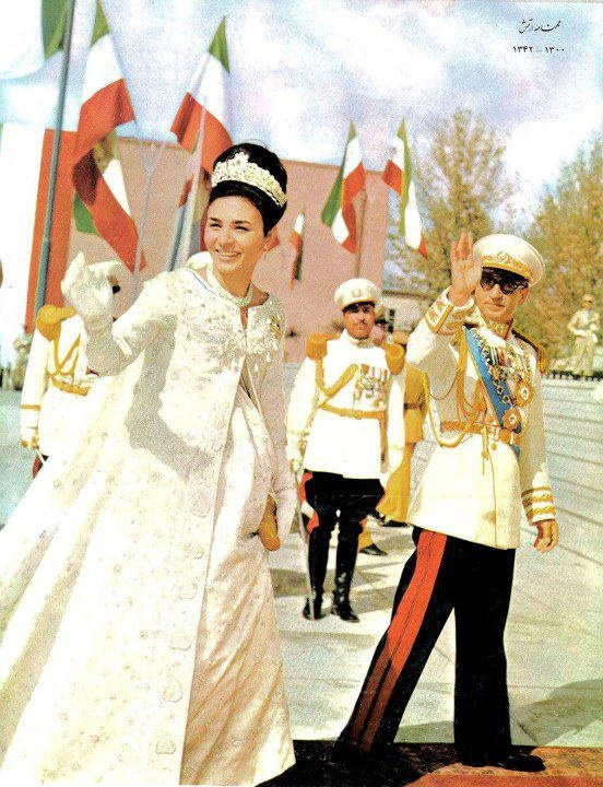 THE SHAH OF IRAN AND EMORESS FARAH~ 1963, Iran