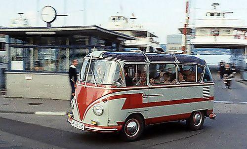 VW T1 Bus Auwärter Carlux, 1963