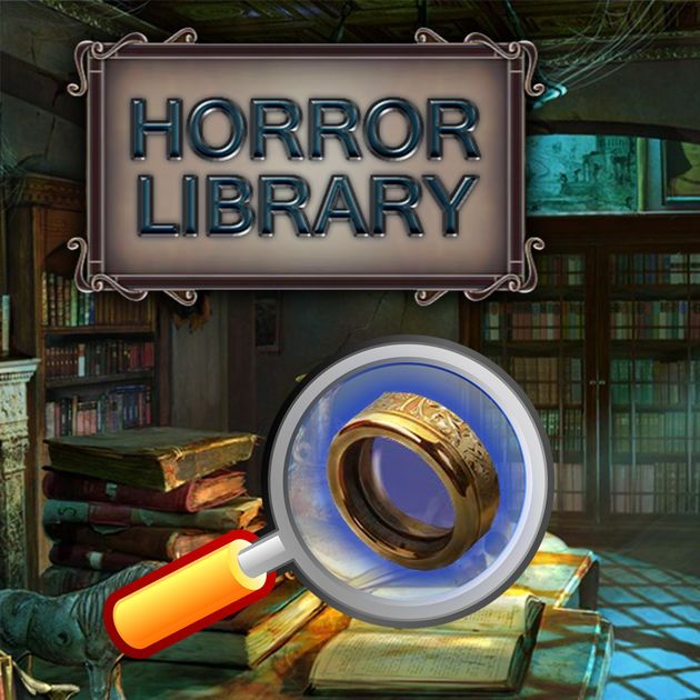 #NEW #iOS #APP Search and Find Hidden Object Games Horror Library - Ajaysinh Jadeja