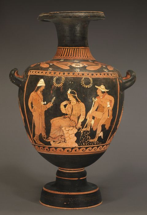 greek red figure hydria essay Ancient vases & jugs is a collection of i'm going to paint them with red and black figure greek on this black-figure hydria, the greek hero herakles battles.