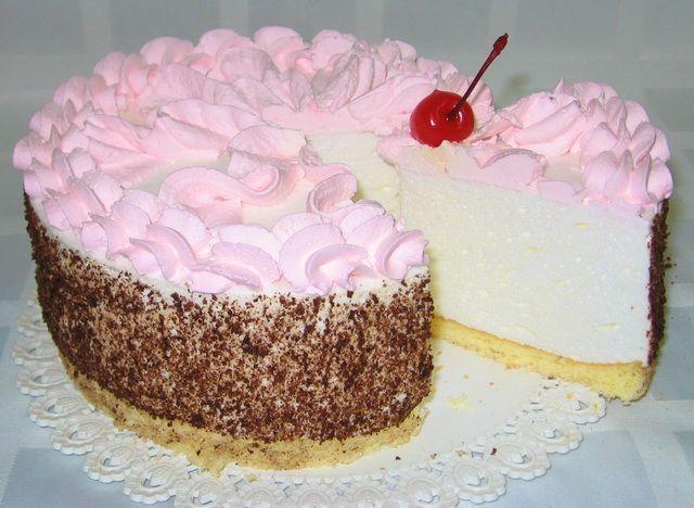 крем суфле для торта