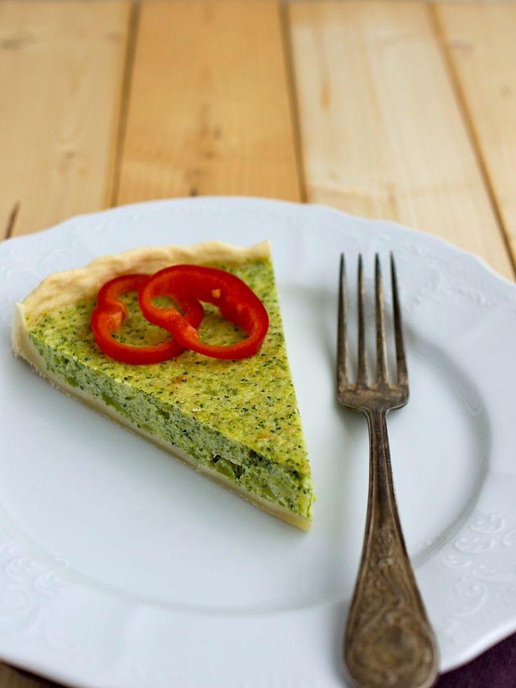 Pradobroty: Quiche brokolicový