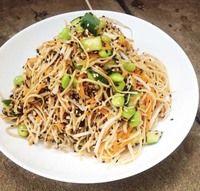Soybean pasta recipe