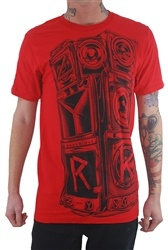 NEW! Zoo York Sound System Shirt Red  Our Price: $24.99  Sale Price: $14.99