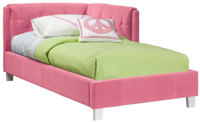 The Bonita Upholstered Corner Daybed Is What Every Girl