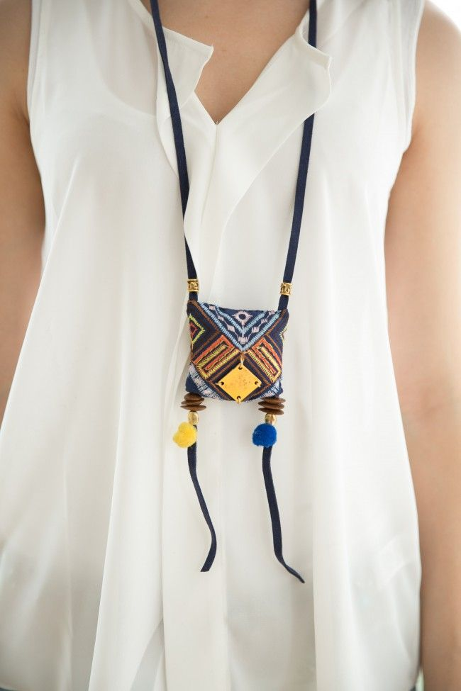 Pillow Necklace