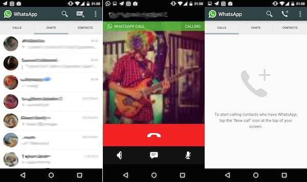 Llamadas gratis de WhatsApp ya disponibles