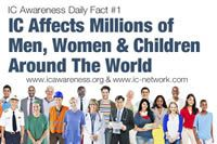 Please Share These Daily Facts Please share these thirty IC awareness facts with your family, friends and social networks!!! Click on each image to see the full fact for that day!