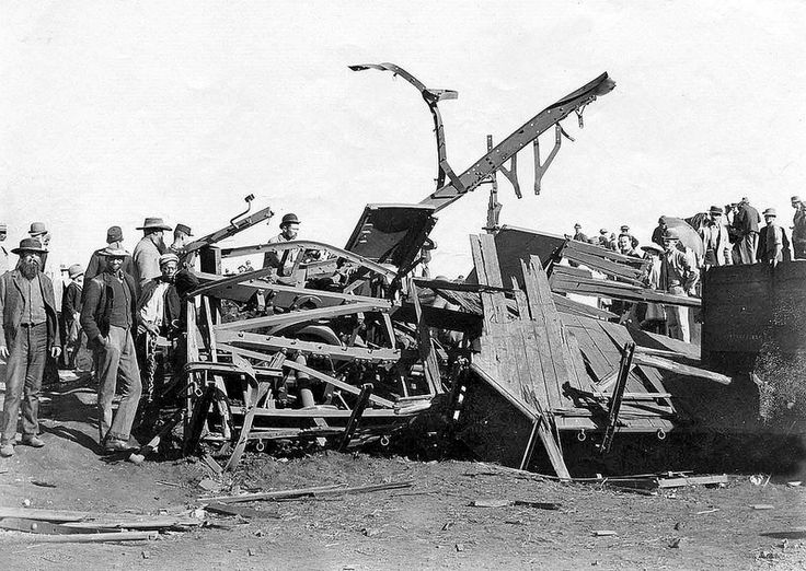 Destroyed Railway Truck after the Dynamite Explosion | Flickr - Photo Sharing!