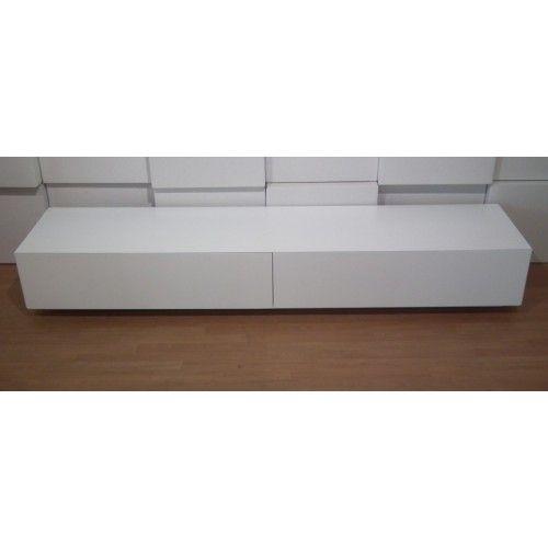 Blanco 200 design lowboard hoogglans wit|matwit