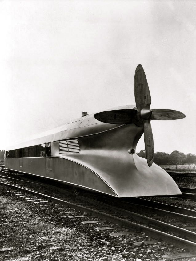Train, design Schienenzeppelin, Allemagne, 1930