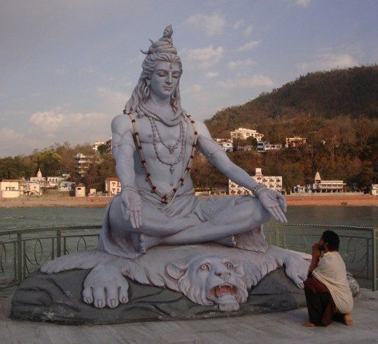 Rishikesh Shiva Statue | shiva-statue-on-the-banks-of-the ...