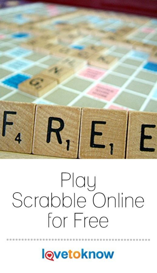 Since it took off in 1952, lexophiles all over the world have been challenging friends to games of Scrabble. While nothing beats the real game, online versions of Scrabble come close and still allow you to demonstrate your vocabulary prowess. There are lots of copycat games online. However, if you want to enjoy the traditional, tile-based spelling game, stick to the original Scrabble and the rules you already know. #free #Scrabble #onlinegames | Play Scrabble Online for Free from #LoveToKnow