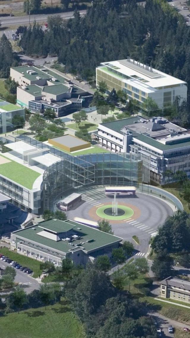 Vancouver Island University, Campus, British Columbia, Canada ~j