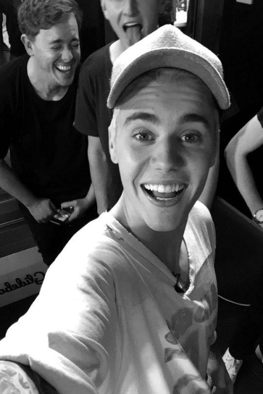 His smile makes me smile