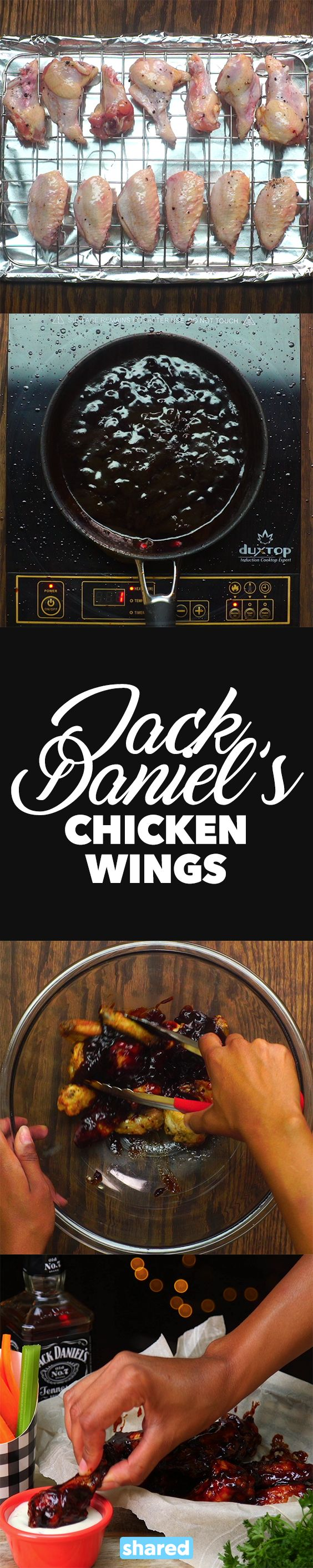 Jack Daniel's Chicken Wings More