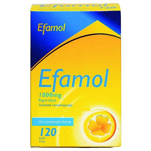 Efamol Woman, 31,90 € (Norm. 37 €).  Helokkiöljykapseli 1000mg. Life, E-taso.