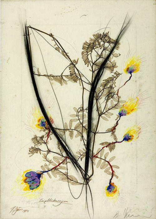 "Günter Brus & Arnulf Rainer ""Charm - Flower - Ring"" 1984"