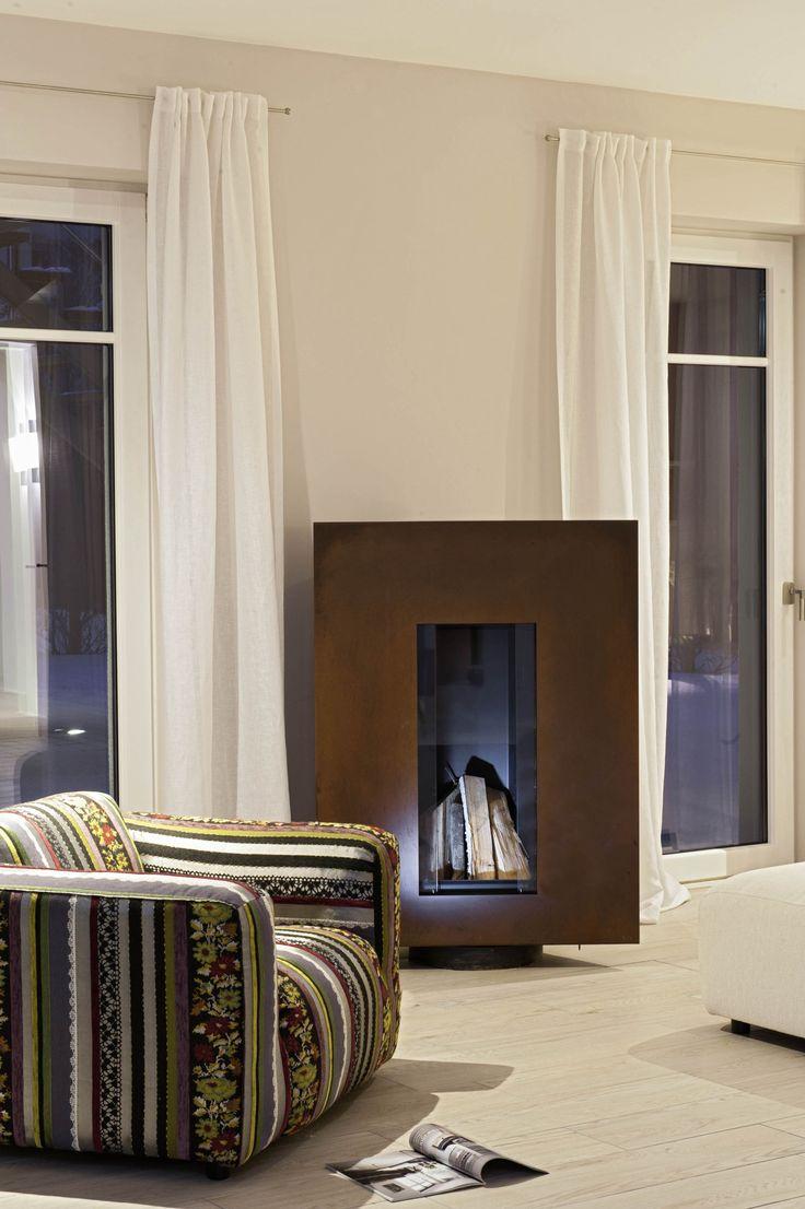 #Viebrockhaus limited designed by #JetteJoop - #Traumhaus für Individualisten - #Kamin