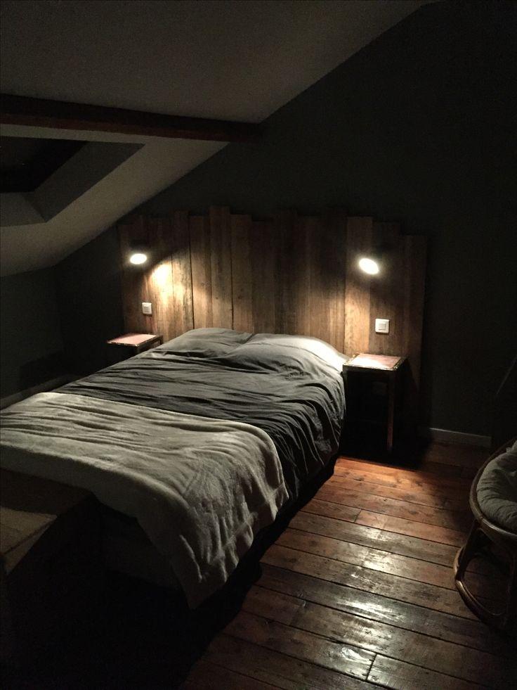 Tête de lit planches