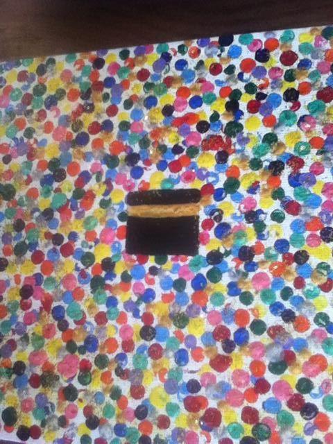 La kaaba activité peinture avec un Cotton tige